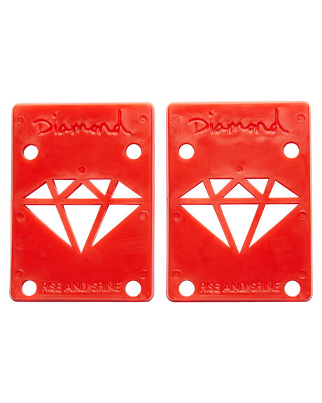 RED BOARDSPORTS SKATE DIAMOND SUPPLY CO ACCESSORIES - 016001119RED