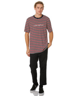 RED NAVY WHITE MENS CLOTHING LOWER TEES - LO19Q2MTS40RNW