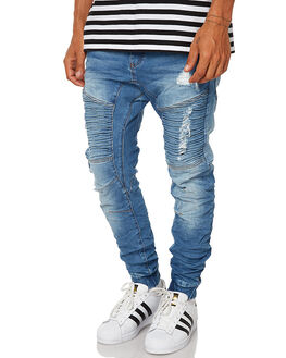BLUE TRASH MENS CLOTHING NENA AND PASADENA JEANS - NPMDP002BLTR