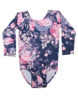 INK FLORAL KIDS GIRLS LITTLE HEARTS DRESSES + PLAYSUITS - LXSLSLEOINKFL
