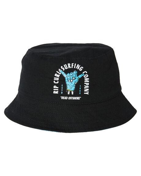 BLACK BLUE KIDS BOYS RIP CURL HEADWEAR - KHABA90107