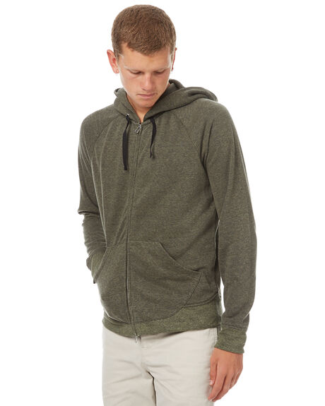 OLIVE MENS CLOTHING OUTERKNOWN JUMPERS - 1250018OLV