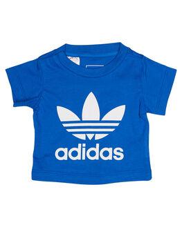 BLUE WHITE KIDS TODDLER BOYS ADIDAS ORIGINALS TEES - CE4318BLUWH