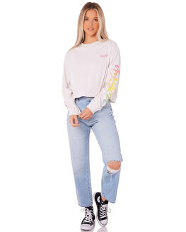 WHITE WOMENS CLOTHING INSIGHT TEES - 5000001001WHT