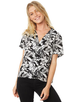TROUBLE IN PARADISE WOMENS CLOTHING ZIGGY FASHION TOPS - ZWT-562TROU