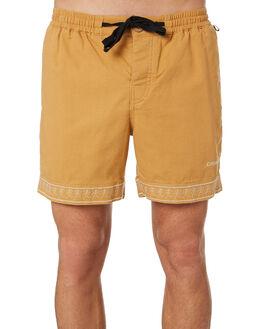MOCHA MENS CLOTHING THE CRITICAL SLIDE SOCIETY SHORTS - WT1823MOC