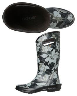 BLACK MULTI WOMENS FOOTWEAR BOGS FOOTWEAR BOOTS - 972356011