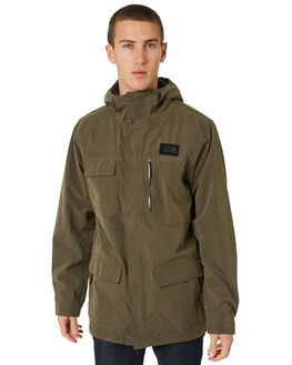 NEW TAUPE GREEN MENS CLOTHING THE NORTH FACE JACKETS - NF0A39MN21L