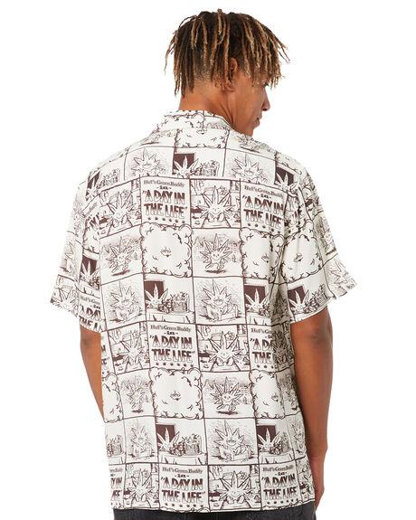 NATURAL MENS CLOTHING HUF SHIRTS - BU00133NAT