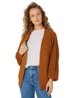 RUST OUTLET WOMENS SWELL KNITS + CARDIGANS - S8189149RUST