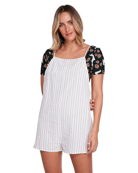 WILD LAVENDE WOMENS CLOTHING RVCA PLAYSUITS + OVERALLS - RV-R206765-WIL