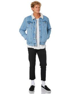 VINTAGE BLUE MENS CLOTHING SWELL JACKETS - S5161381VINBL