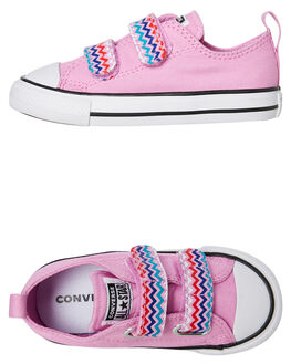 PEONY PINK KIDS GIRLS CONVERSE SNEAKERS - 767194CPPNK