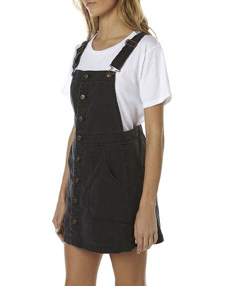8e46316bbf WSH BLACK WOMENS CLOTHING WRANGLER PLAYSUITS + OVERALLS - W-950512-M84BLK