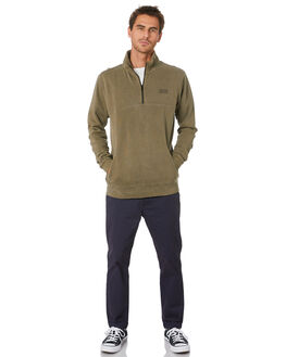 WASHED OLIVE MENS CLOTHING SWELL JUMPERS - S5203441WSHOL