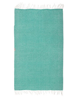 SEAFOAM WOMENS ACCESSORIES LEUS TOWELS HOME + BODY - 01BKFASFSFM