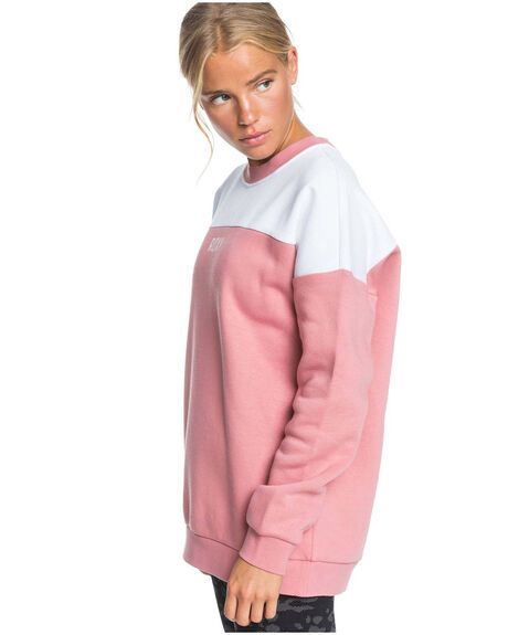 DUSTY ROSE WOMENS CLOTHING ROXY JUMPERS - ERJFT04269-MKP0