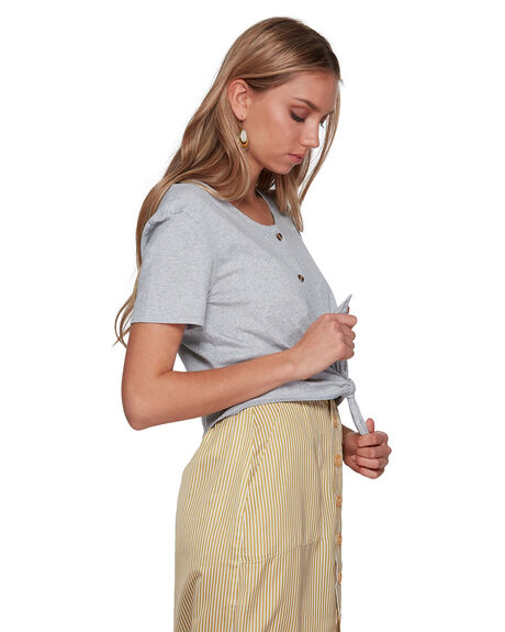 GREY MARLE WOMENS CLOTHING BILLABONG FASHION TOPS - BB-6507131-GYM