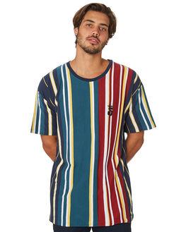 TEAL MENS CLOTHING STUSSY TEES - ST097104TEA