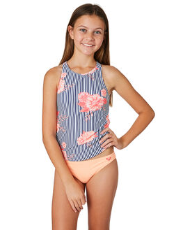 MEDIEVAL BLUE KIDS GIRLS ROXY SWIMWEAR - ERGX203181BTE7