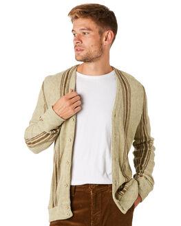 HEATHER OATMEAL MENS CLOTHING BRIXTON KNITS + CARDIGANS - 02628HTOAT