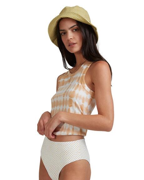 MUSTARD WOMENS CLOTHING BILLABONG SINGLETS - BB-6517091-MUS
