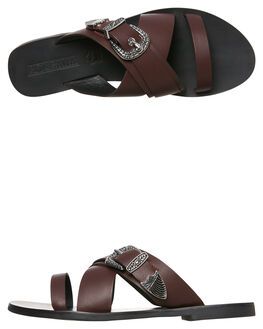 BURGANDY WOMENS FOOTWEAR SOL SANA FASHION SANDALS - SS181W418BURG