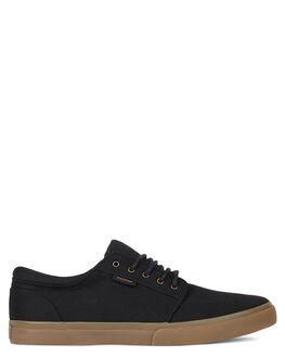 BLACK GUM MENS FOOTWEAR KUSTOM SNEAKERS - KS-4991119-KKG