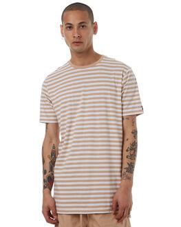 WHEAT WHITE MENS CLOTHING ZANEROBE TEES - 101-LYKMWHTW