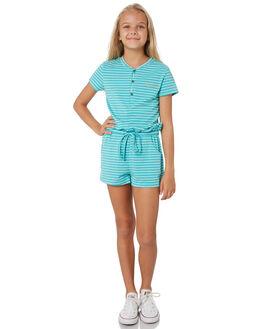 BRIGHT JADE KIDS GIRLS RUSTY DRESSES + PLAYSUITS - MCG0002BRJ