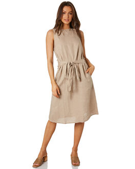 SAND WOMENS CLOTHING LILYA DRESSES - LD04SAND