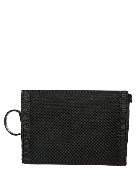BLACK MENS ACCESSORIES OBEY WALLETS - 100010122BLK