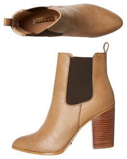 DARK TAUPE WOMENS FOOTWEAR BILLINI BOOTS - B796DKTAU