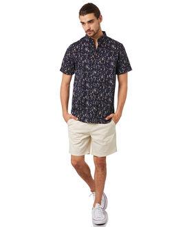NAVY WHITE MENS CLOTHING ACADEMY BRAND SHIRTS - 19S843NVYW
