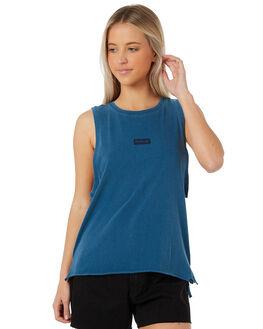 BLUE FORCE WOMENS CLOTHING HURLEY SINGLETS - AQ3200-474
