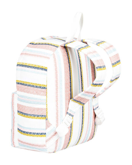 SNOW WHITE WOMENS ACCESSORIES ROXY BAGS + BACKPACKS - ERJBP04174-WBK4