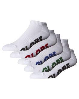 WHITE MENS CLOTHING GLOBE SOCKS + UNDERWEAR - GB71139045WHI