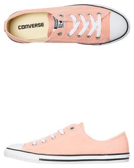 PALE CORAL WOMENS FOOTWEAR CONVERSE SNEAKERS - 559832COR