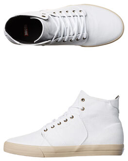 WHITE OFF WHITE MENS FOOTWEAR GLOBE SNEAKERS - GBLOSANGTX-11756