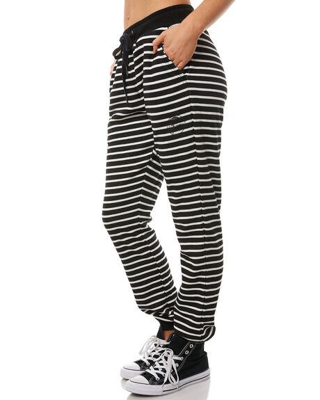 BLACK STRIPE OUTLET WOMENS O'NEILL PANTS - 4523104623