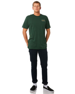 BOTTLE GREEN MENS CLOTHING DEPACTUS TEES - D5182001BTLGN