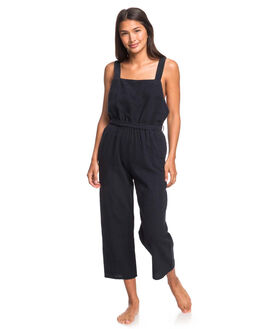 TRUE BLACK WOMENS CLOTHING ROXY PLAYSUITS + OVERALLS - ERJWD03405-KVJ0