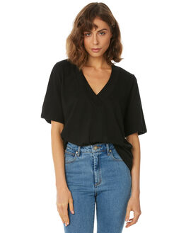 BLACK WOMENS CLOTHING THE FIFTH LABEL TEES - 40180459BLK