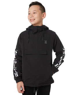 BLACK KIDS BOYS ST GOLIATH JUMPERS + JACKETS - 2433026BLK