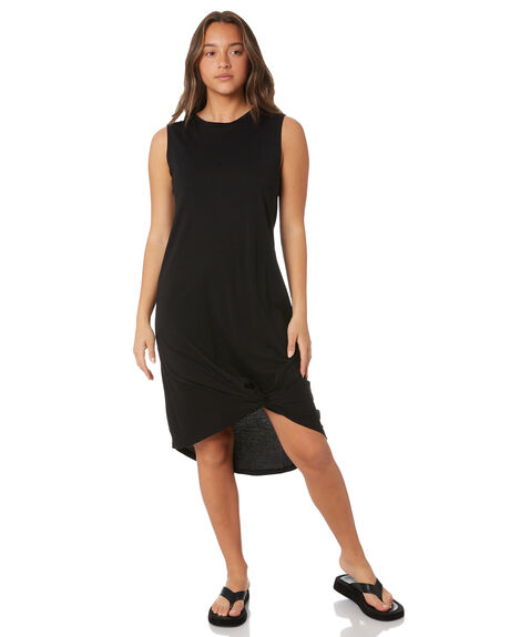 BLACK WOMENS CLOTHING SILENT THEORY DRESSES - 6023003BLK