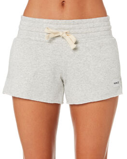HEATHER GREY WOMENS CLOTHING HURLEY SHORTS - AQ3199-050