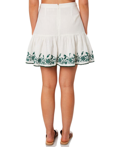 WHITE OUTLET WOMENS TIGERLILY SKIRTS - T392285WHT