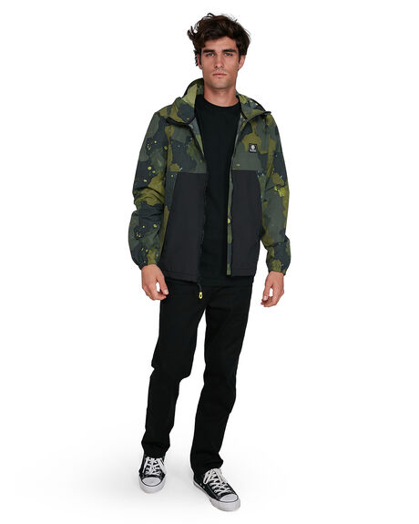 PAINT CAMO MENS CLOTHING ELEMENT JACKETS - EL-502456-PNO