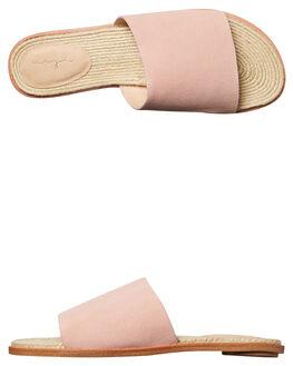 BLUSH SUEDE WOMENS FOOTWEAR URGE FASHION SANDALS - URG17075BLUSH