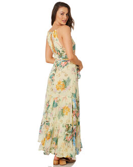 LEMON WOMENS CLOTHING TIGERLILY DRESSES - T392427LEM